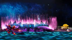 Kinh nghiệm đi xem nhạc nước Wings of Time Singapore